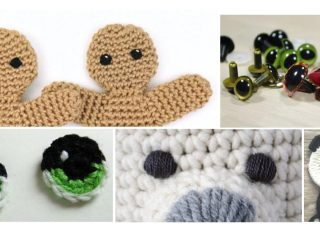 Perfect Eyes For Amigurumi | thecrochetspace.com