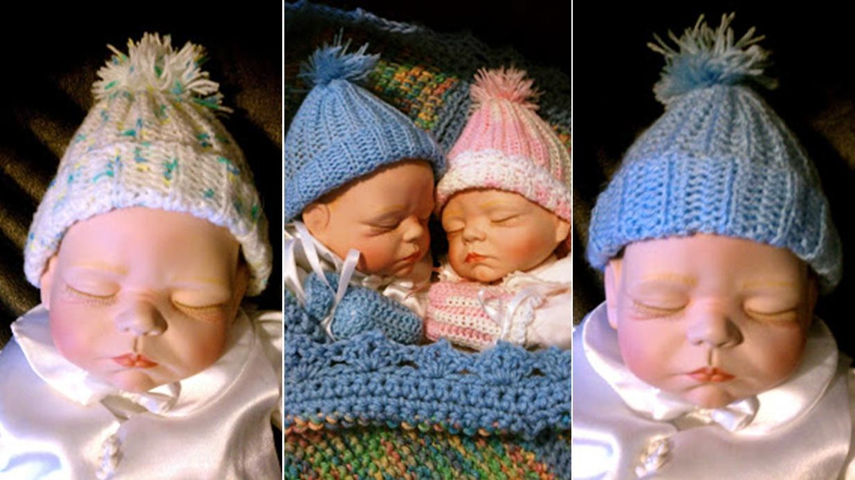 Easy Crochet Baby Beanie | thecrochetspace.com