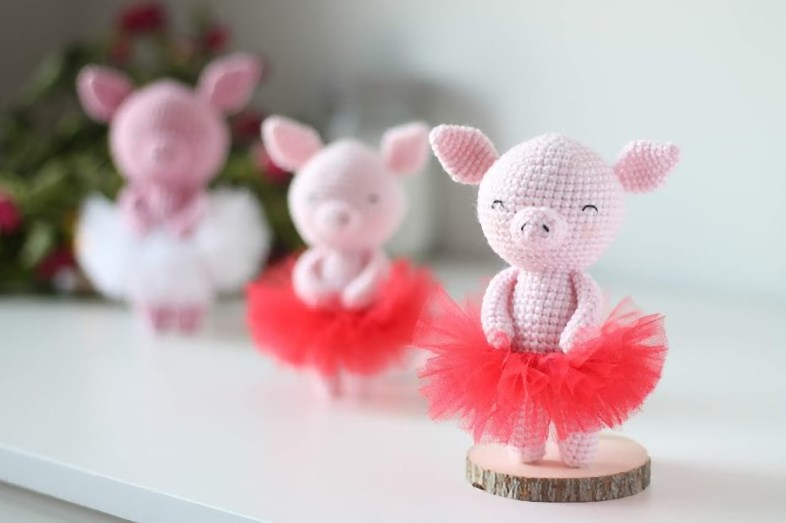 Crochet Animals Pig Amigurumi Crochet Tutorial - Part 2 - Craft ... | 523x786