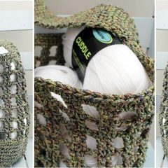 Deep Base Crochet Bag || thecrochetspace.com