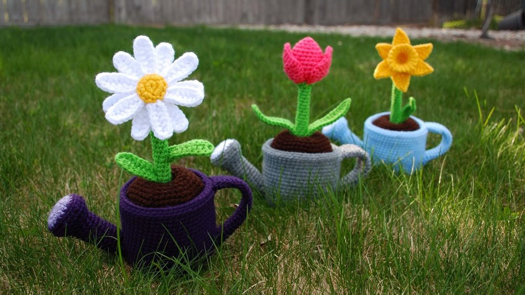 Surprise Easy Amigurumi May Flowers | thecrochetspace.com