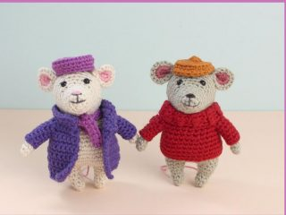 Inspired Rescuers Amigurumi Mice | thecrochetspace.com