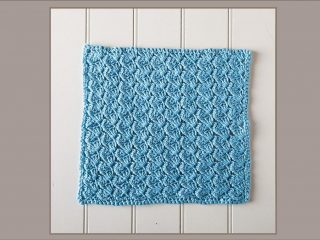 crochet glacial spa cloth | the crochet space