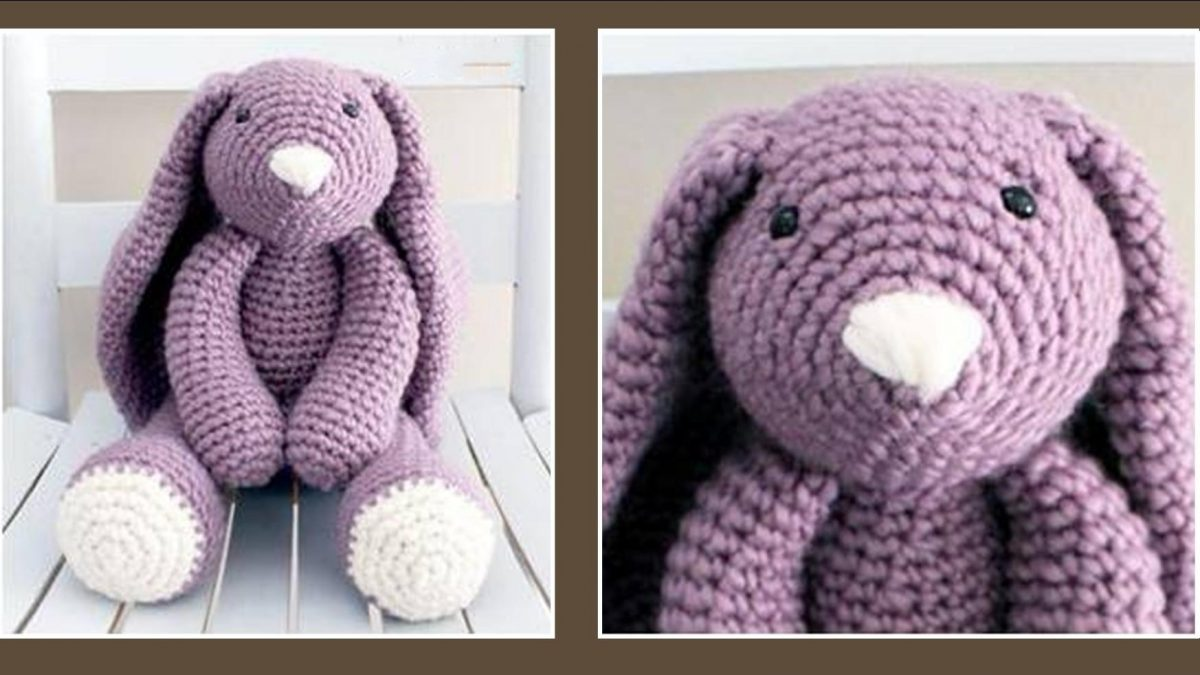 adorable Layla crocheted bunny   the crochet space