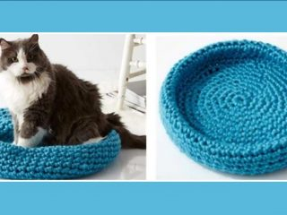 crochet cat nap nest | the crochet space