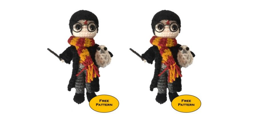 Crochet Mini Harry Potter [FREE Amigurumi Pattern]