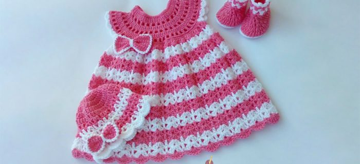 Angel Wings Crochet Set || thecrochetspace.com