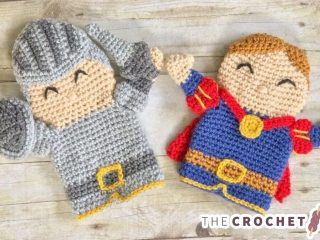 Royal Crochet Hand Puppets || thecrochetspace.com