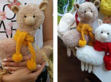 Awesome Alpaca Crochet Pattern | thecrochetspace.com