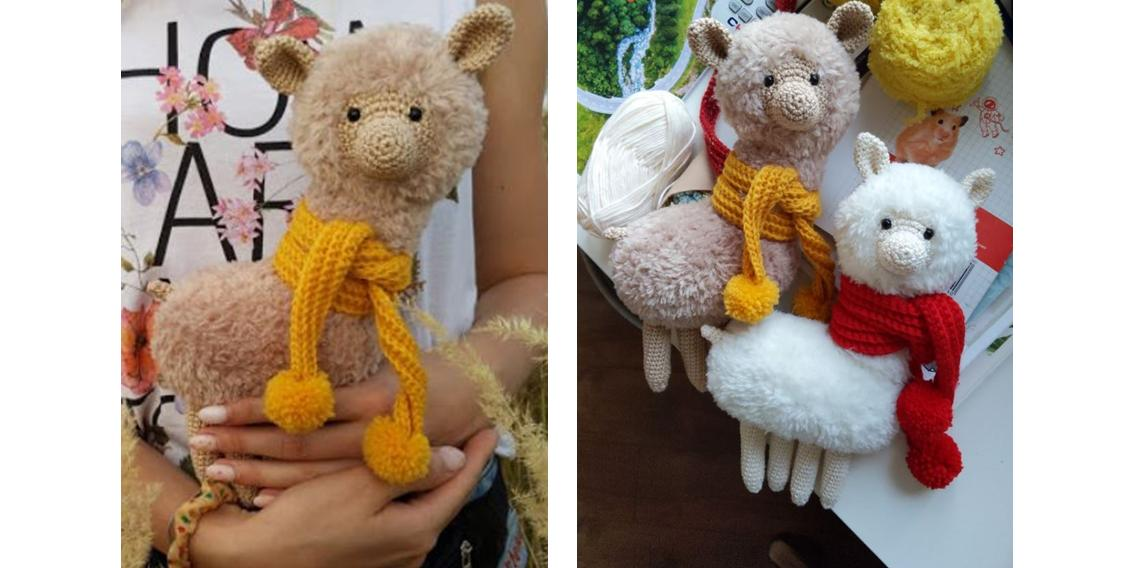 Roundup: 10 Free Crochet Patterns for Llamas (or Alpaca) - CrochetKim™ | 568x1128