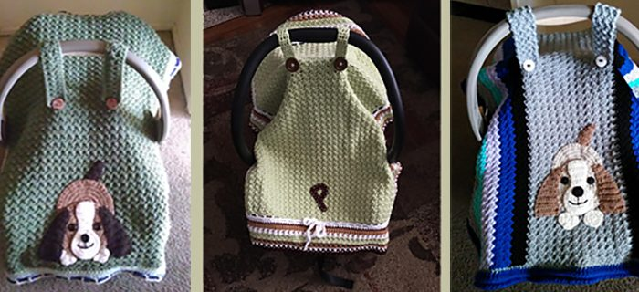 Baby Seat Crochet Cover || thecrochetspace.com