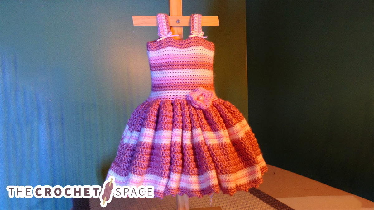 Baby's First Crochet Sundress || thecrochetspace.com