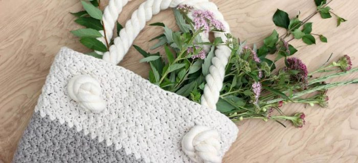 Beginners Suzie Crochet Bag || thecrochetspace.com
