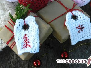 Cool Crochet Gift Tag || thecrochetspace.com