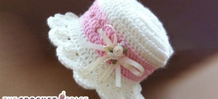 Crochet Baby High Hat || thecrochetspace.com