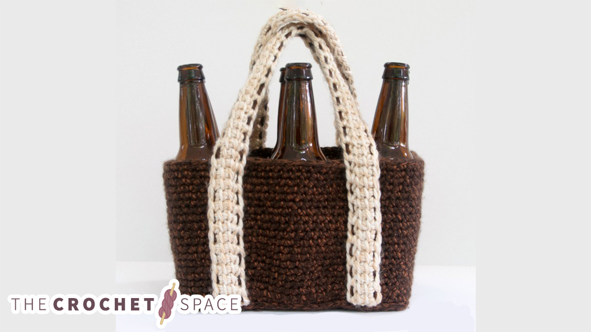 Crochet Bring Your Own Bag || thecrochetspace.com