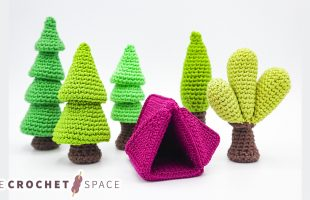 Crochet Camping Forrest Style || The Crochet Space