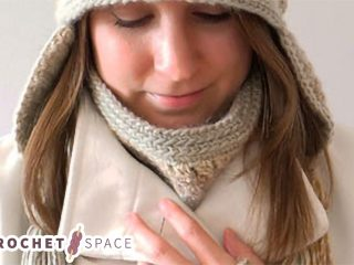 Crochet Clustered Cowl Set || The Crochet Space