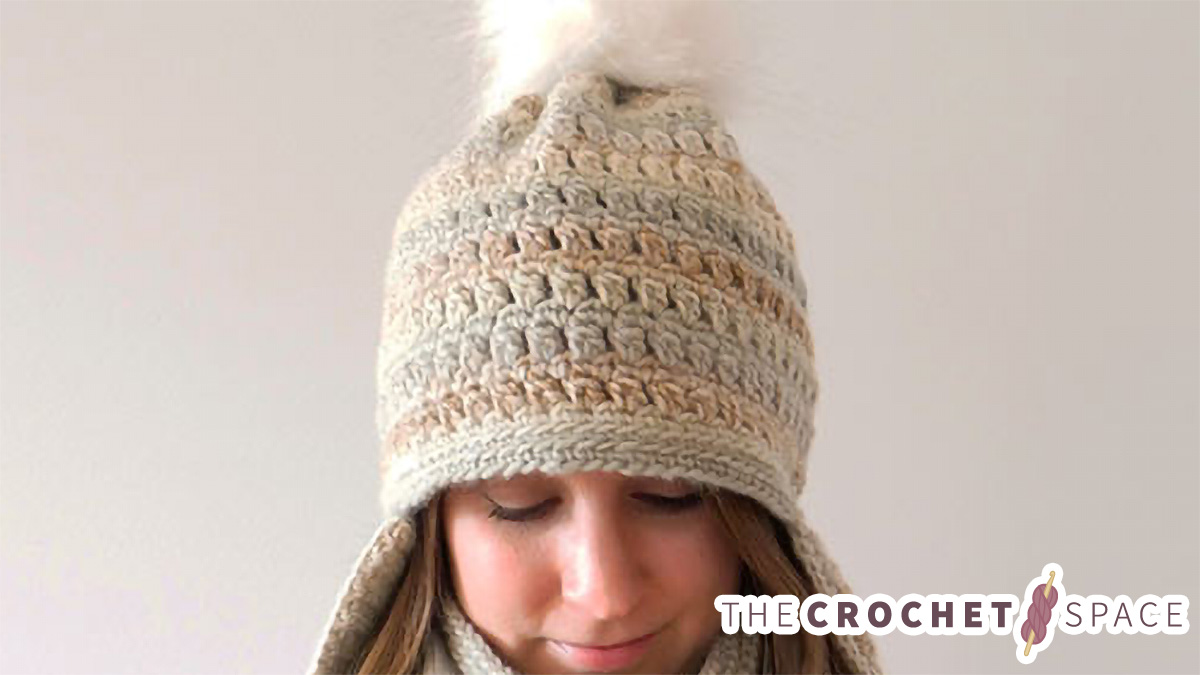 Crochet Clustered Earflaps Hat    The Crochet Space