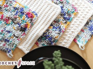 Crochet Kitchen Cloths Variety || thecrochetspace.com