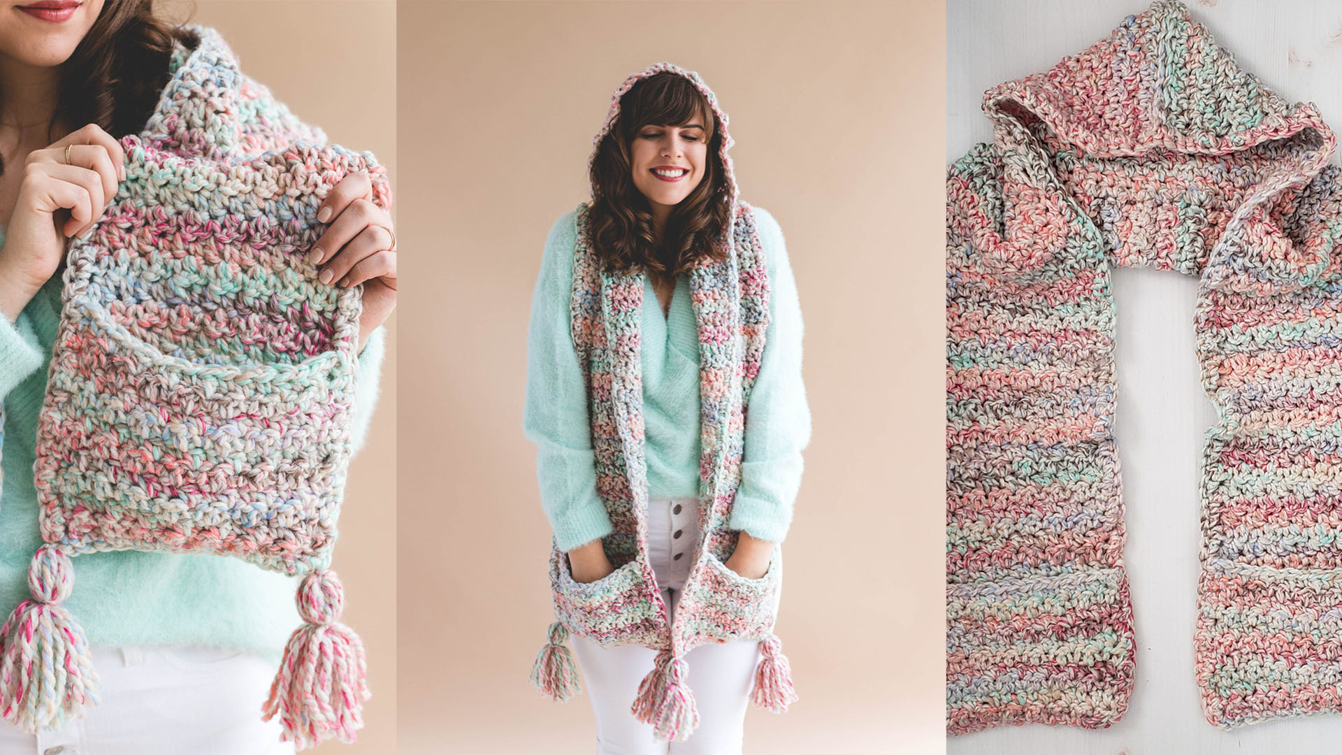 Crochet Storybook Hooded Scarf Free Crochet Pattern Tutorials The Crochet Space
