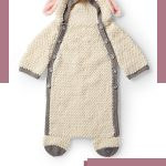 Crochet Baby Sheep Cocoon. A fun all-in-one in the shape of a sheep    thecrochetspace.com