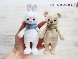 Cuddlesome Bunny Crocheted Toy || thecrochetspace.com
