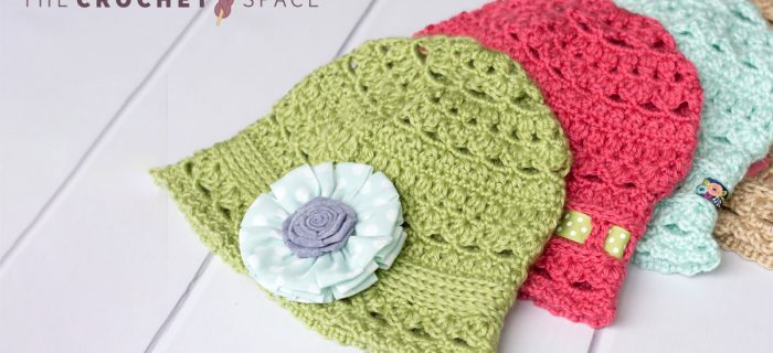 Cute Crochet Cloche Hat || thecrochetspace.com