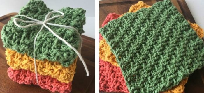 Charming C2C Crochet Dishcloths | thecrochetspace.com