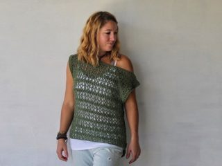 Easy Ivy Crochet Tee || thecrochetspace.com