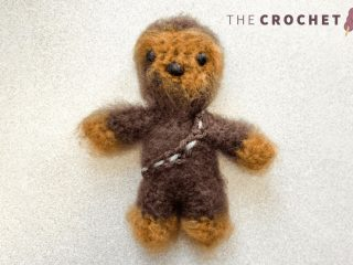 Easy Mini Crochet Chewbacca || thecrochetspace.com