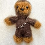 Easy Mini Crochet Chewbacca. Complete character    thecrochetspace.com