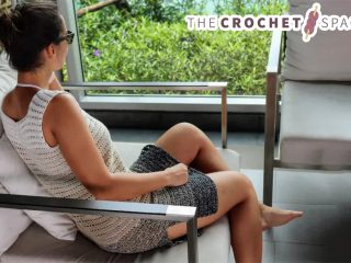 Eazy Breezy Crochet Dress || thecrochetspace.com