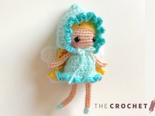 Fairie Pixie Crochet Doll || thecrochetspace.com