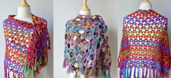 Fairy Winter Crochet Shawl | thecrochetspace.com