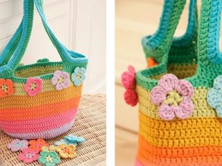 Flower Market Crochet Bag | thecrochetspace.com