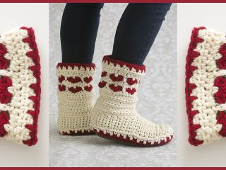 Forever Loved Crochet Boots | thecrochetspace.com