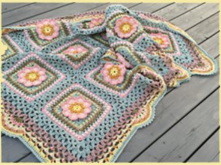Forrest Song Crochet Throw || thecrochetspace.com