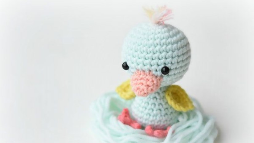 Amigurumi Friendly Wee Duck | thecrochetspace.com