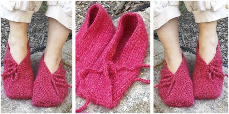Fuego crocheted slippers | the crochet space