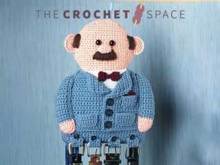 Gents Crochet Belt Holder || thecrochetspace.com