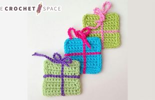 Gift Wrap Crochet Boxes    The Crochet Space