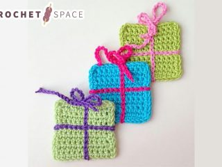 Gift Wrap Crochet Boxes || The Crochet Space