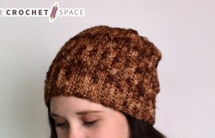 Gilded Lily Crochet Beanie    The Crochet Space