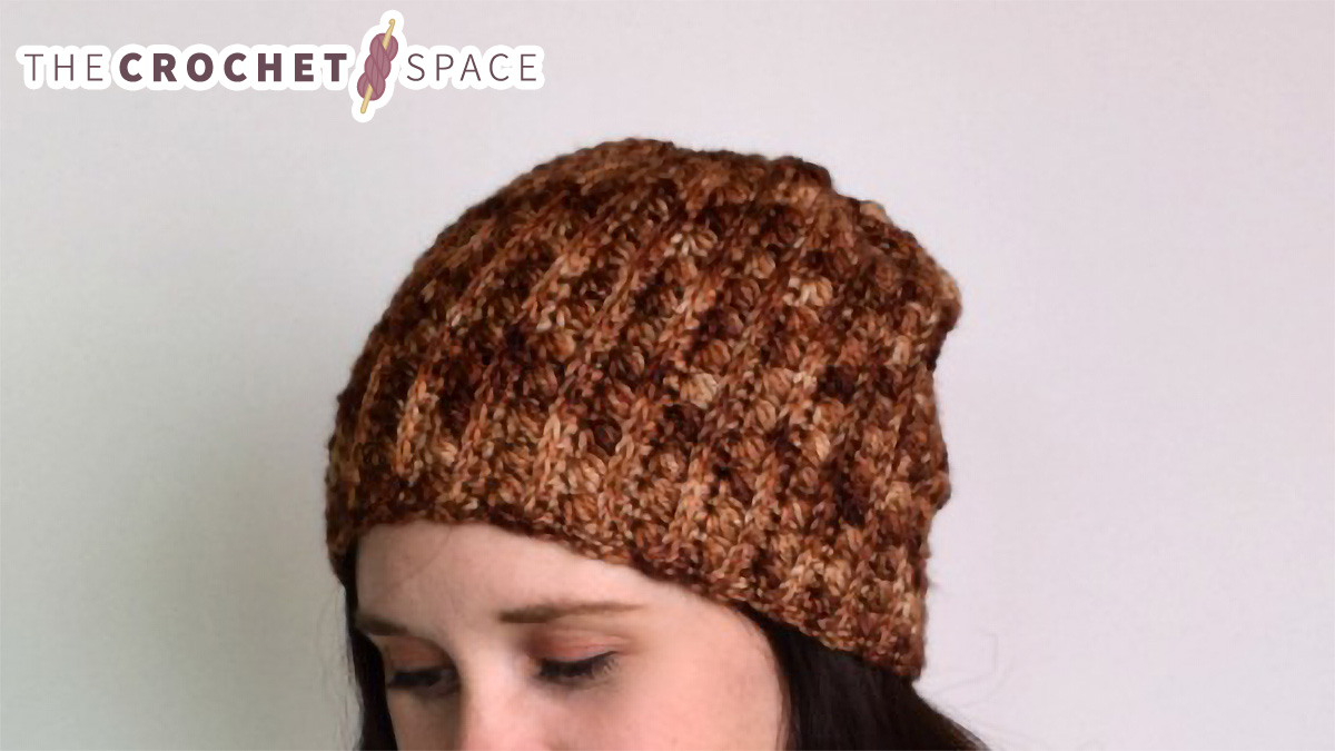 Gilded Lily Crochet Beanie || The Crochet Space