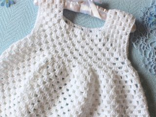 Granny Crochet Toddler Dress || thecrochetspace.com