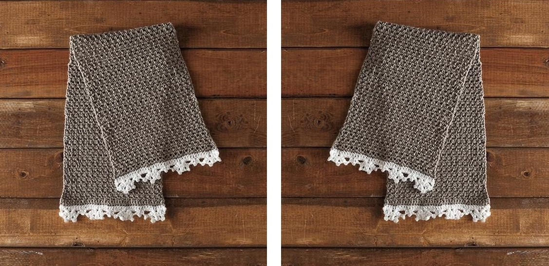 Classic Heirloom Crochet Dishcloth | thecrochetspace.com