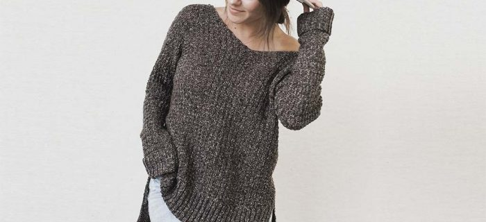 Home Girl Crochet Sweater || thecrochetspace.com