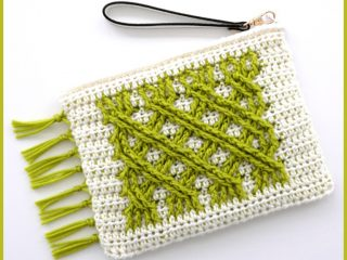 Irish Fling Crochet Purse || thecrochetspace.com