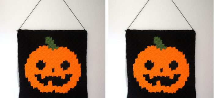 Jack's House crochet Hanging | thecrochetspace.com